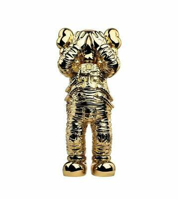$1499.99 • Buy KAWS Holiday Gold Space Chrome Rare Limited Bearbrick Be@rbrick Black Silver