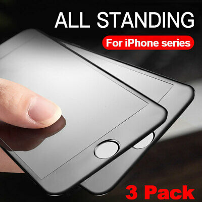 AU11.39 • Buy 3Pcak Matte Tempered Glass For IPhone 12 11 Pro Max Screen Protector Glass Film