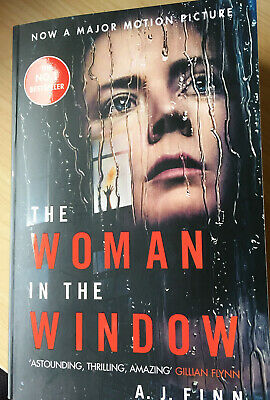 AU13 • Buy The Woman In The Window [movie Tie-In] By A J Finn Paperback Like New Condition