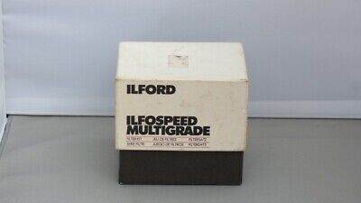 Ilford Ifospeed Multigrade Filter Kit In Original Box.  • 32.50£