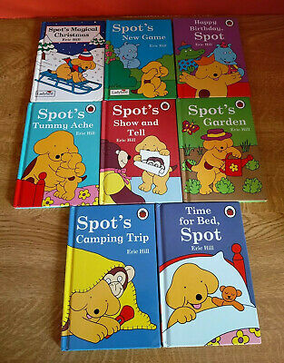 BUNDLE 8 LADYBIRD HARDBACK BOOKS 'SPOT THE DOG' By Eric Hill • 8.75£