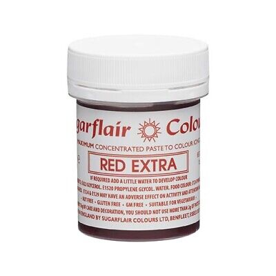 £6.99 • Buy Sugarflair MAXIMUM CONCENTRATED EXTRA PASTE COLOUR 42g Buy 3 Get 2 Free