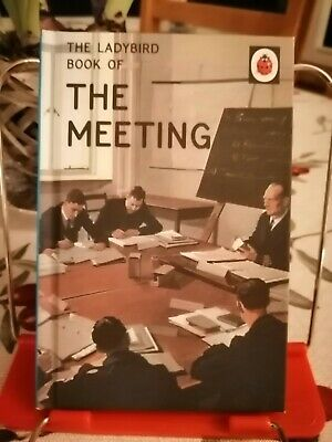 The Meeting, Ladybird Books For Grown Ups 😊 • 2£