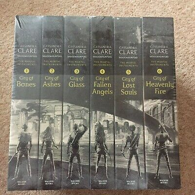 Shadowhunters Series Cassandra Clare Set 6 Books Mortal Instruments Collection • 34.99£