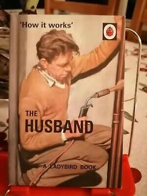 The Husband, How It Works😊. Ladybird Books For Grown Ups.  • 2£