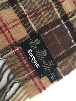 Barbour - Lambswool Scarf - New Without Tags • 7.50£