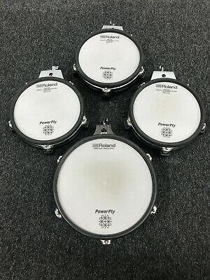 AU632.90 • Buy Roland PD-105 PD-85 Four V Drum Pad UPGRADE PACKAGE - POWER PLY HEAD UPGRADES