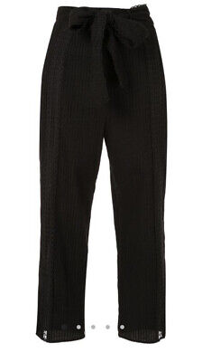 AU99 • Buy Alice McCall Foreign Affair Black Pintuck Pants With Belt AU 6 US 2 EU 34 RP$295
