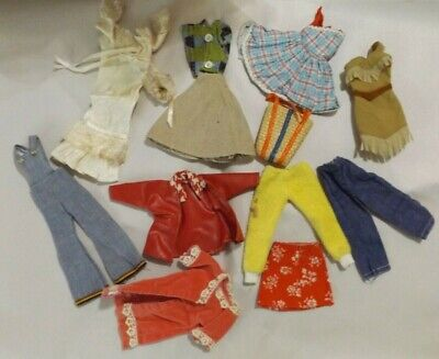 $ CDN12.09 • Buy Vintage Mixed Lot Of Barbie, Clone,  Mommy Made Clothes