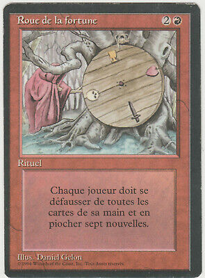 ►Magic-Style◄ MTG - Wheel Of Fortune / Roue De La - French Revised FBB - Played  • 423.83£