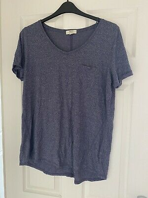 Matalan Ladies Tshirt Size Large - Blue - Worn Once • 2.99£