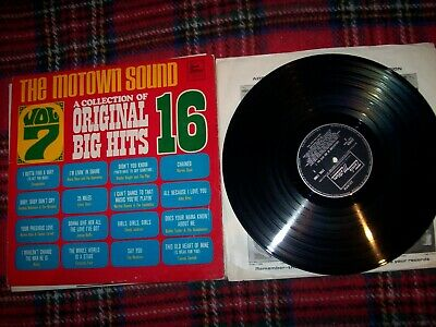 Various- The Motown Sound Vol 7...tammi Terrell,blinky,temptations++..1969 L.p • 5£