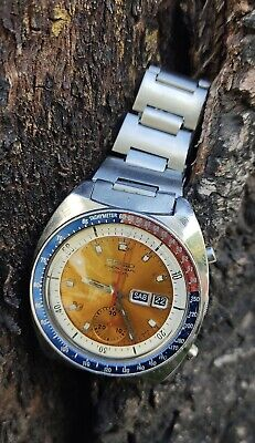 $ CDN1363.14 • Buy 1976 Vintage Seiko 6139 6002 Pogue Pepsi Chronograph Automatic Watch
