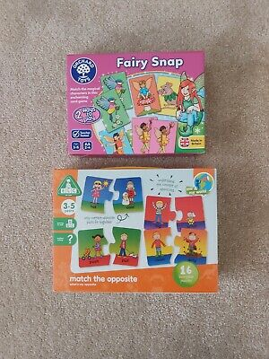 Orchard Toys Fairy Snap BNWT & ELC Match The Opposite Toddler Games Age 3 4 5 6 • 8.99£