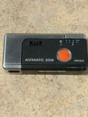 £26.99 • Buy Vintage AGFA AGFAMATIC 3008 110 Film  Collectabable Camera