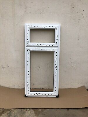 UPVC Window Frames Dummy Sash And Double Glazing BRAND NEW • 175£