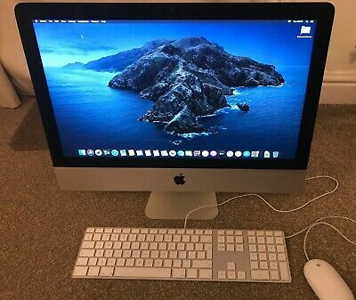 "Apple IMac 21.5"" A1418 (late 2012) On Catalina Inc Wired Keyboard, Mouse And Box • 150£"