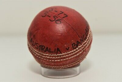 AU899 • Buy Test Match Cricket 5 For 56 Ball, From Stuart MacGill Collection - Also Signed