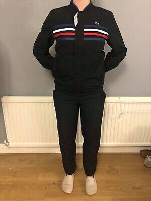 Lacoste GENUINE Mens Black Tracksuit WH3140-00 FR Size 3 US Size XS. Read Descr. • 33£
