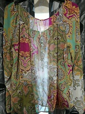 Ladies Blouse Size 14 From Matalan • 1.20£