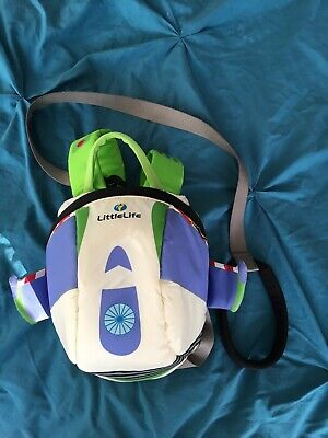 Littlelife Backpack Baby Toddler Reins Disney Toy Story Buzz Lightyear Kids • 1£