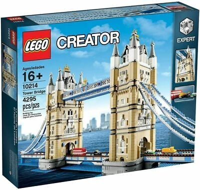 Lego Creator Expert - 10214 - London Tower Bridge - Brand New & Factory Sealed • 279.95£