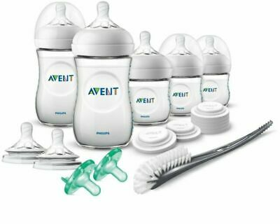 AU46.48 • Buy Philips Avent Natural Baby Bottle Newborn Starter Gift Set, SCD206/03 Free Ship