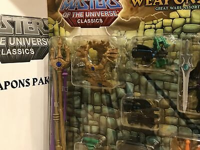 $79.99 • Buy Mattel MOTUC Masters Of The Universe Classics Weapons Pak Great Wars Assortment