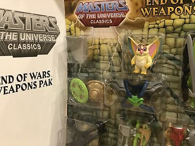 $59.99 • Buy Mattel MOTUC Masters Of The Universe Classics End Of Wars Weapons Pak