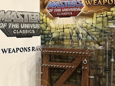 $79.99 • Buy Mattel MOTUC Masters Of The Universe Classics Weapons Rack