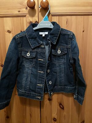 DEBENHAMS (Blue Zoo) Girls Denim Jacket Age 5 Yrs • 7£