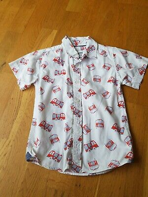 Blue Zoo Fire Engine Boys Short Sleeved Shirt 4 - 5 Years • 0.99£