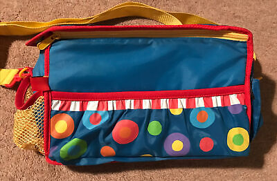 AU9.93 • Buy Kids Spotty Bag With Lots Of Pockets