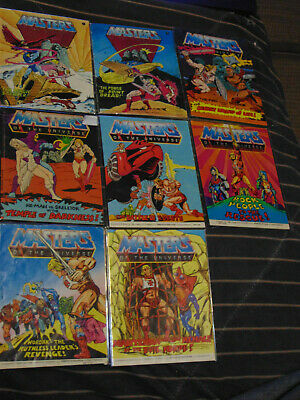 $30 • Buy Masters Of The Universe MOTU He-Man Mini Comic Lot Of 8 Acceptable To Good #2