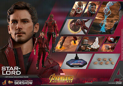 $ CDN185.34 • Buy Hot Toys Marvel Avengers Infinity War STAR-LORD 1/6th Scale Figure MMS539