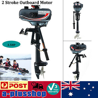 AU327 • Buy 2 Stroke Outboard Motor 3.5HP Inflatable Fishing Boat Engine Kayak