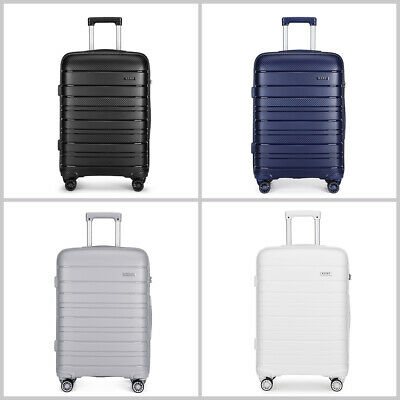 20/24/28 Inch Hard Shell PP Suitcase Set Trolley Travel Case Hand Cabin Luggage • 40.99£