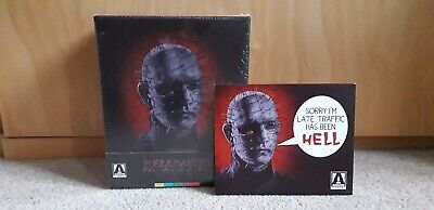 Hellraiser The Scarlet Box Blu-ray Trilogy Set Arrow Video Brand New And Sealed • 250£