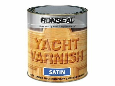 YVS1L 1L Exterior Yacht Varnish Satin • 27.99£