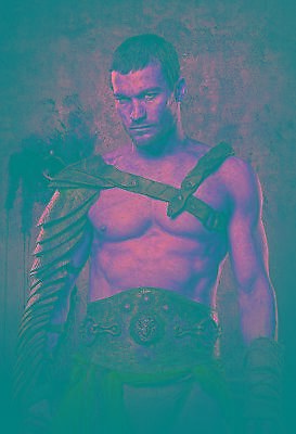 Andy Whitfield Canvas Wall A2 A1 A0 Large Gift Present SW1248 • 14.95£