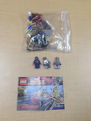 Lego 6865 Captain America's Avenging Cycle 100% Complete W/Instructions • 9.46£