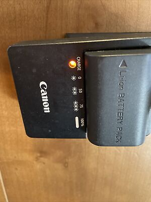 Genuine Canon LC-E6 Charger And LP-E6 Battery Re-fuel • 26.93£