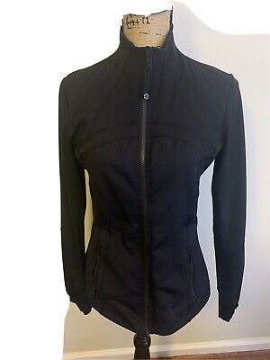 $ CDN62.57 • Buy Lululemon Ladies Define Coat Run Gym To/from  Jacket Sz 10 Black Ret 118