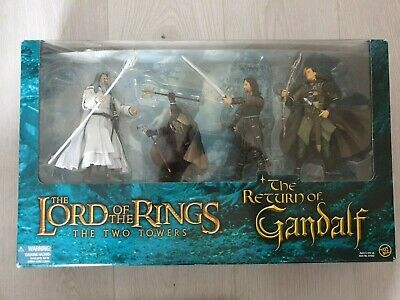 £35 • Buy Lord Of The Rings - The Two Towers - The Return Of Gandalf Actoin Figure Box