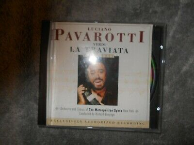 Pavarotti La Traviata Bonynge Point Cd • 2£