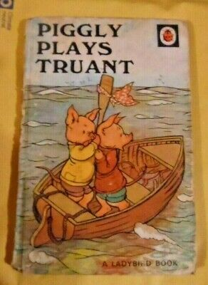 Vintage Ladybird Series 401 Piggly Plays Truant  • 1.20£