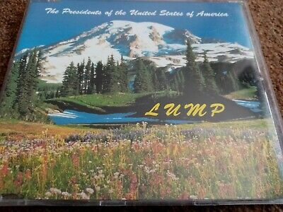The Presidents Of The United States Of America - Lump (1995) CD Single  • 0.25£