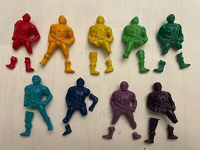 $2.99 • Buy MOTU HE-MAN CRAYONS Masters Of The Universe Pieces Lot Of 9 Mattel 1984