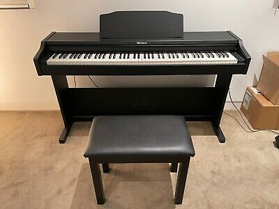 AU1100 • Buy Roland RP102 Digital Piano With Bench Black (RP102BK)