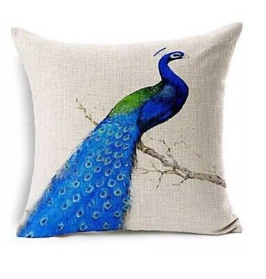 Peacock Cushion Covers (set Of Two) • 5.99£